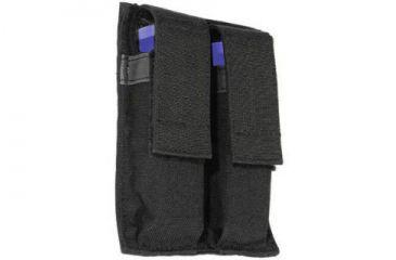 Blackhawk Double Pistol Mag Pouch, Black Color