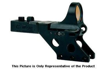 C-MORE Serendipity Red Dot Sight w/Standard Switch,Frame Width .750in,Black, 12 MOA SL750B-12