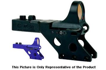 C-MORE Serendipity Red Dot Sight w/Standard Switch,Frame Width .750in,Blue, 12 MOA SL750BB-12