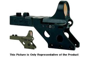 C-MORE Serendipity Red Dot Sight w/Standard Switch,Frame Width .750in,Olive Drab Green, 6 MOA SL750OD-6