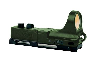 C-More Railway Red Dot OD Green 8MOA CMCRWODG-8