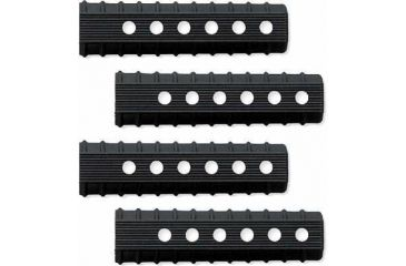 Caa Command Arms Accessories M4 Carbine Set of 4 Vented 6.5in Thermal Rubber Rail Covers
