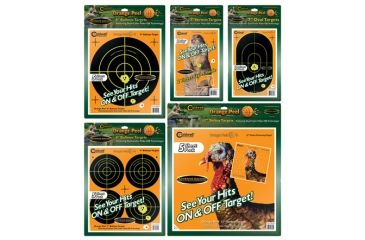 Caldwell Animal Countertop Display Refill Pack, Targets Only, Orange Peel 462800