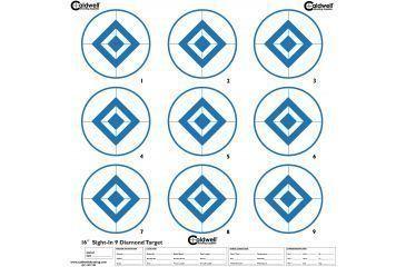 Caldwell Sight In Target, 9 Diamond, Hi Contast Blue, 10pk 966893