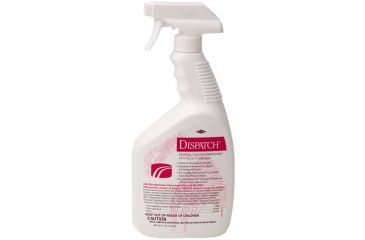 Caltech DISPATCH Cleaner/Disinfectant with Bleach, Caltech 68967 Trigger Spray 650.6 Ml (22 oz.)