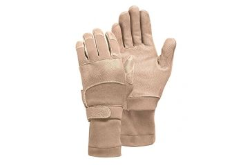 Camelbak Max Grip NT Flight Gloves w/ Sleeve,Tan, Medium MX04-09-DFAR-SS