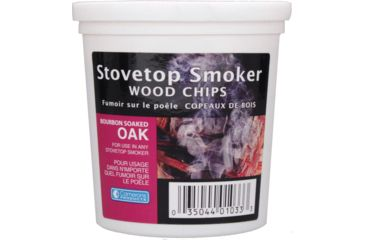 Camerons Products Smoking Chips, 1-Pint, Bourbon Soaked Oak 111928