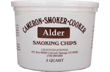 Camerons Products Smoking Chips, 5-Quart, Alder 111954