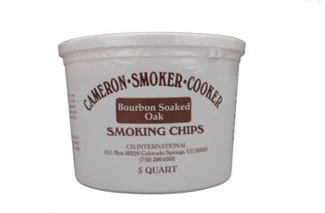 Camerons Products Smoking Chips, 5-Quart, Bourbon Soaked Oak 111927