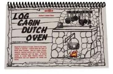 Camp Chef Log Cabin Dutch Oven Cookbook, Multicolor BKLCDO