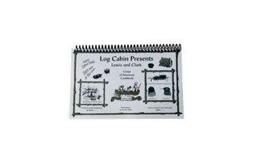 Camp Chef Log Cabin Lewis & Clark Cookbook, Black/White BKCSLC