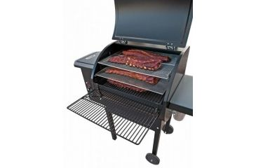 6-Camp Chef Pellet Grill & Smoker Collapsible Front Shelf