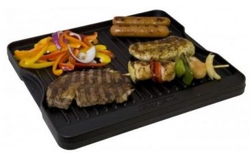 Camp Chef Reversible Pre Seasoned Cast Iron Griddle And