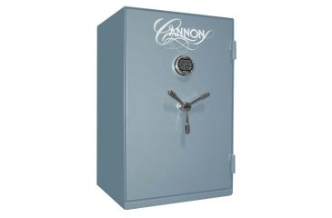 Cannon Safe Home Series 3824 Fire Resistant Security Safe w/ Electronic Lock, 38x24x22in, Hammertone Smokey Pitch Blue HS3824-H8TEC-13