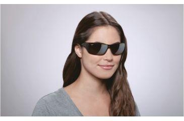Maui Jim Canoes Sunglasses w/ Tortoise Frame and HCL Bronze Lenses - H208-10, On Model