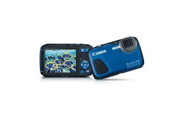 Canon 12.1MP PowerShot D30 Waterproof Compact Digital Camera, Blue 9337B001