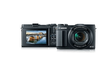 Canon 12.8 MP PowerShot G1 X Mark II Compact Digital Camera, Black 9167B001