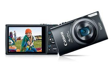 Canon 16MP PowerShot ELPH 340 HS Digital Camera, Black 9344B001