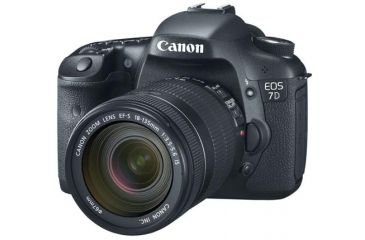 Canon EOS 7D SLR Camera w/ EF-S 18-135mm IS Lens
