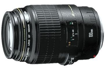1-Canon EF 100mm f/2.8 Macro USM Lens