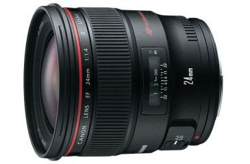 1-Canon EF 24mm f/1.4L II USM Lens
