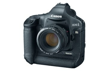 Canon EOS 1Ds Mark III 21.1 MegaPixel Camera