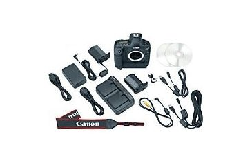 Canon EOS 1Ds Mark III Package Contents
