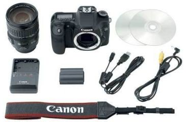 Included accessories with OPTIONAL 28-135mm Lens