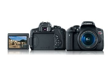 Canon Eos Rebel T6i Camera Kit With Ef S 18 55mm Is Stm Lenses Kit Free Shipping Over 49