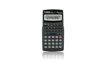 Canon F-604 Scientific Calculator, Black 7102A017