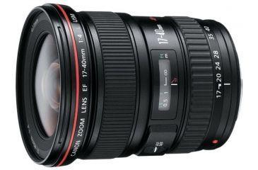 1-Canon EF 17-40mm f/4L USM Ultra Wide Angle Zoom Lens