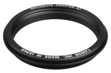 Canon Macrolite Adapter 67mm