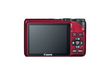 Canon PowerShot A2200 14.1 MP Digital Camera, Red