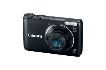 Canon PowerShot A2200 14.1 MP Digital Camera, Black 4943B001
