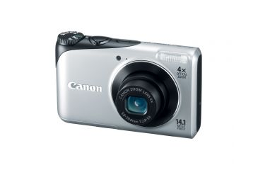 Canon PowerShot A2200 14.1 MP Digital Camera, Silver 4941B001