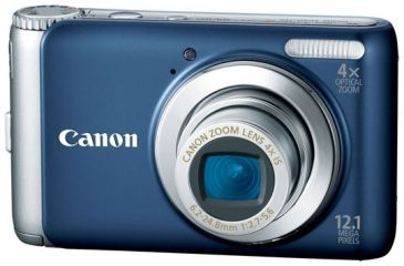 Canon Power Shot A 3100IS Blue Digital Camera