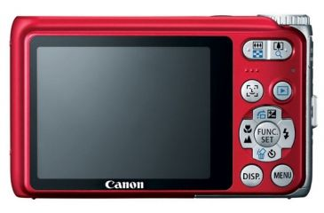 Canon Power Shot A3100 IS Red Digital Camera