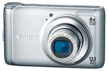 Canon Silver PowerShot A 3100IS Series Photo Camera