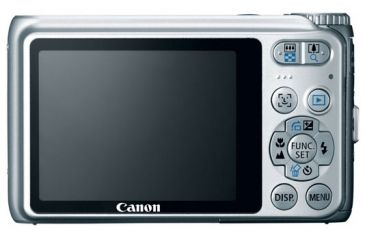 Canon PoweShot A3100IS Silver Photo Camera