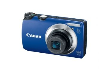 Canon PowerShot A3300 IS 16 MP Digital Camera, Blue 5037B001