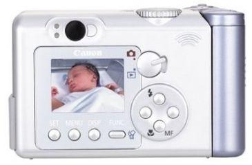 Back of Canon A80 Camera