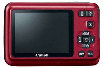 Canon PowerShot A495 Digital Photo Camera, Red