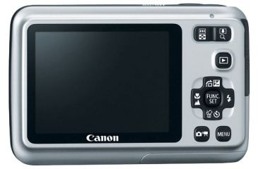 Canon PowerShot Silver A495 Camera w/ 2.5inch LCD