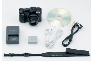 Canon Powershot G10 Package Contents