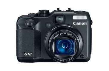 Canon Powershot G12 10 MP 5x Zoom Camera 4342B001