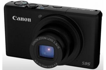 Canon PowerShot S95 Digital Camera - flash retracted