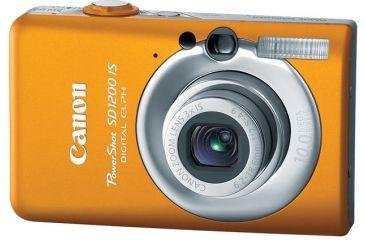 Canon PowerShot SD1200 IS 10.0 Megapixel Digital Camera Kit Orange 3451B001
