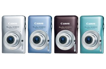 Canon PowerShot SD1300 IS Digital ELPH Cameras