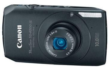 Canon Power Shot SD4000 IS Digital ELPH Kit, Black