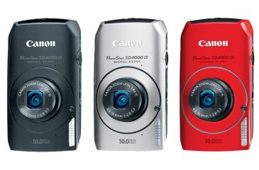 Canon PowerShot SD4000 IS Digital ELPH Cameras